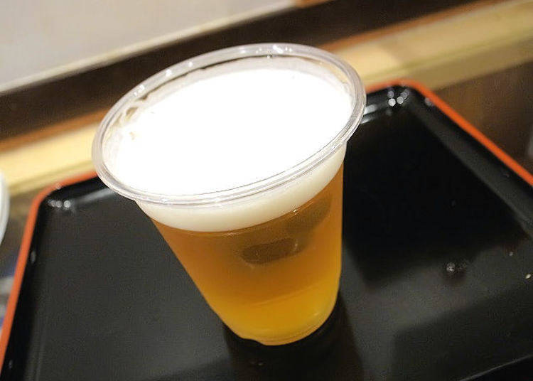 All drinks at Aji no Fue start at 200 yen! Draft beer only costs 250 yen!