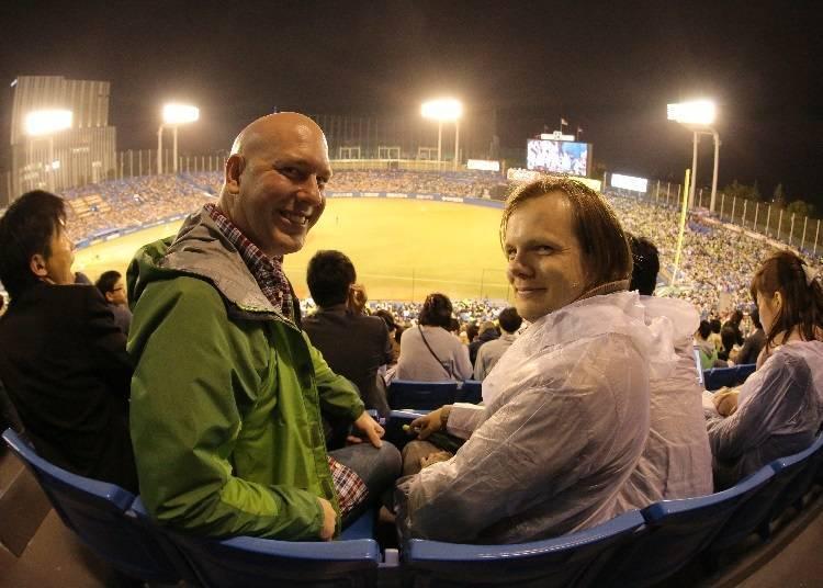 야구 관전은 일본에서 그리 많지 않은 밤의 즐길거리!