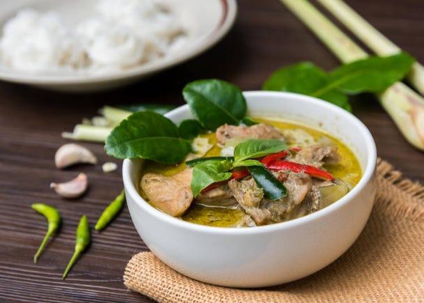 3:「グリーンカレー」はベトナム料理じゃない!