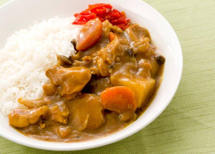 2:カレーが苦手…日本料理は味が濃い気がする
