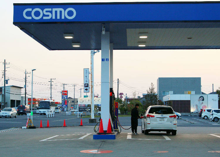 prices in japan  expressway toll  gasoline  rental cars