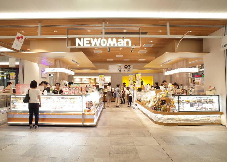 14.「NEWoMan」與新宿高速巴士總站相連,在此購買便當或是麵包,可以在乘車途中享用!
