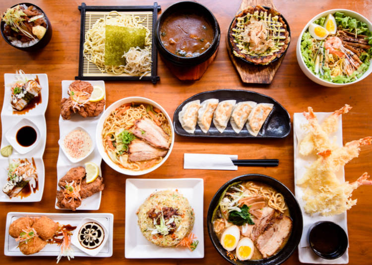 Japan is the land of gourmands – there is delicious food of every variety!