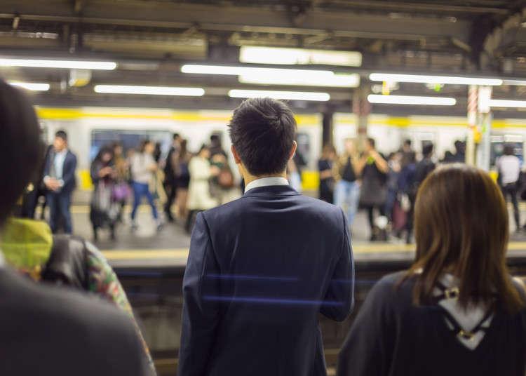 철도왕국 일본! 일본 전철회사의 지각 증명서는 다들 인정할 수 밖에 없다!