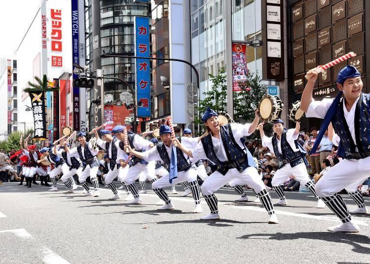 Shinjuku Eisa Festival 2019 (7/27)