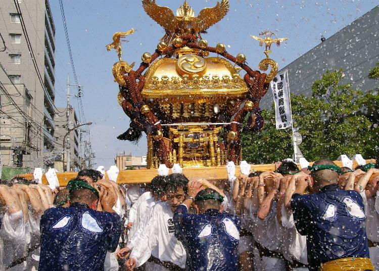 Tomioka/Fukagawa Hachiman Festival (8/11 - 8/15)