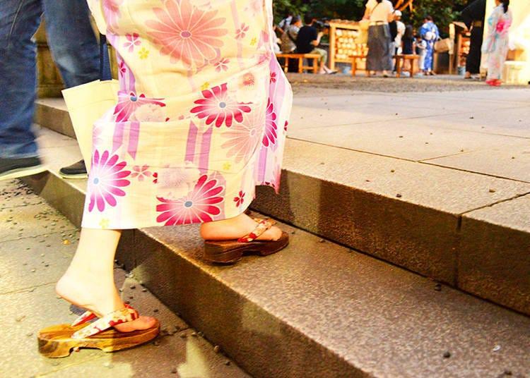 乃木神社の夏祭り
