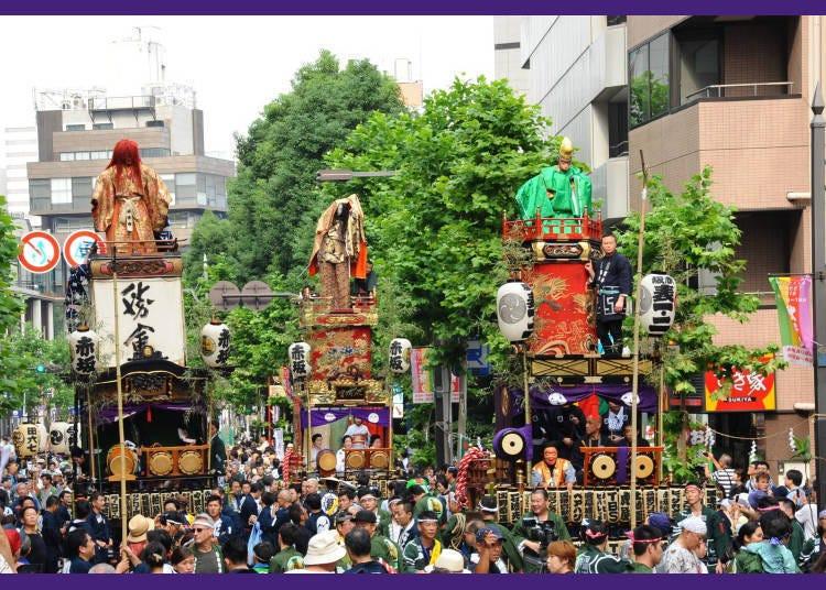 「赤坂冰川祭」