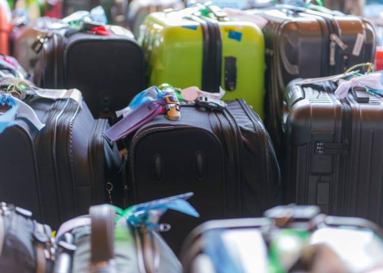 機場、飯店、市街的寄放行李處與宅配服務