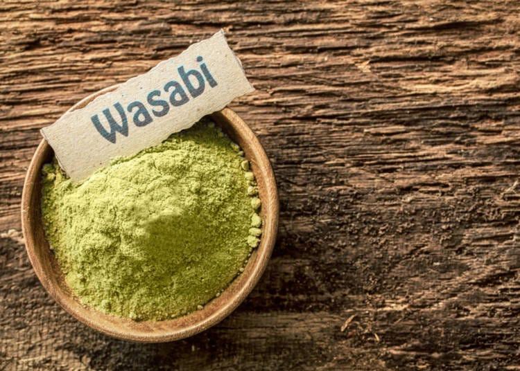 7. The wasabi imitation game