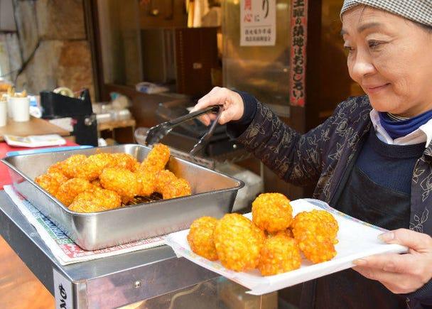 Wander around Tsukiji