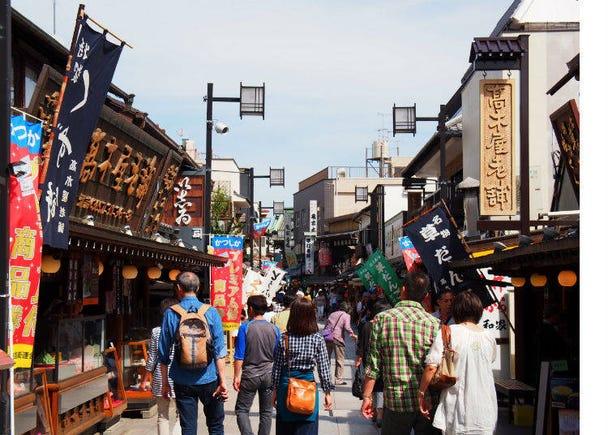 Appreciate the old-time feel of Shibamata