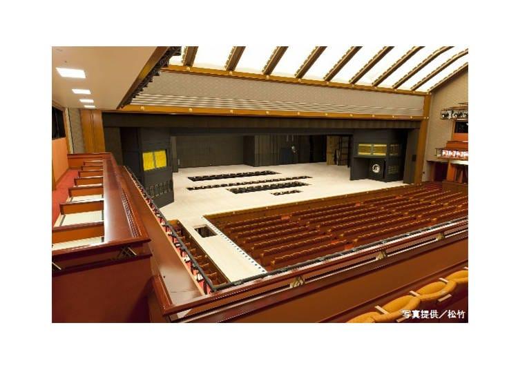 Kabuki-za Theater: The Kabuki Stage