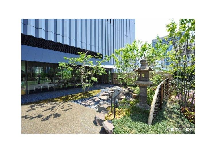 Kabuki-za's Stunning Japanese Garden