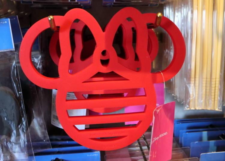 Simple Design, Easy to Use! Minnie Pot Holder, 900 yen