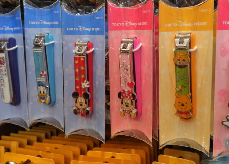 Easy-to-Use Character Nail Clippers, 1200 yen each
