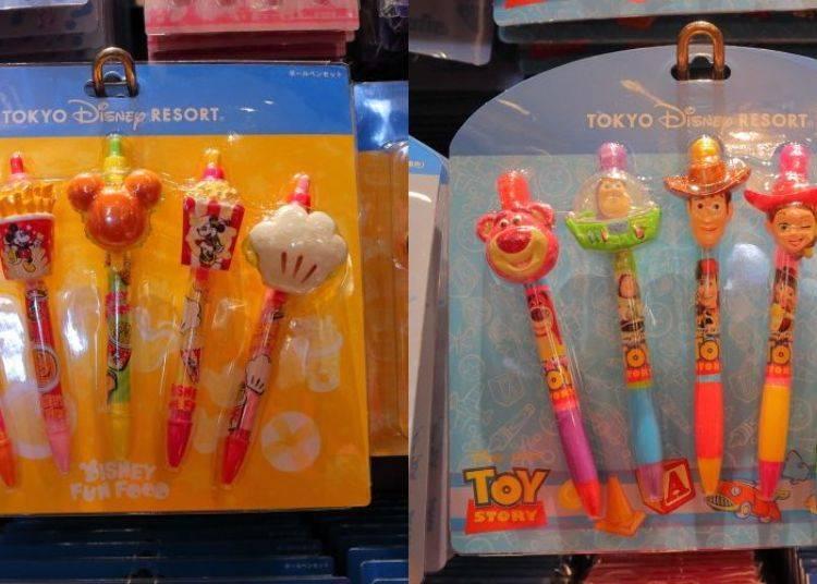 Character Heads Ballpoint Pen Set, 2300 yen)