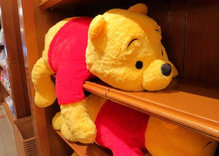 Disney Winnie the Pooh stuffed pocket tissue purse pocket tissue case Tokyo Disn