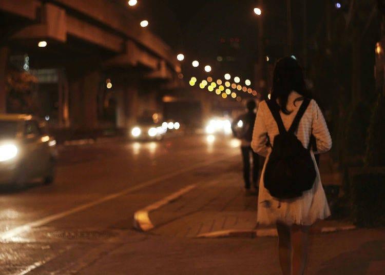 女性晚上獨自外出也很安全嗎?