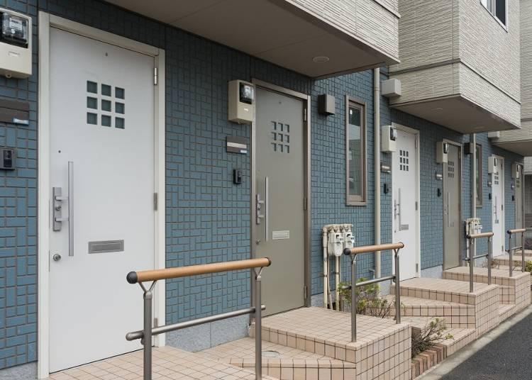 1:日本的房子都好小一間、秀苦