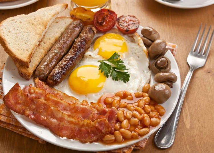 イギリスは「ボリューム満点の朝食」で二日酔いを吹き飛ばす!