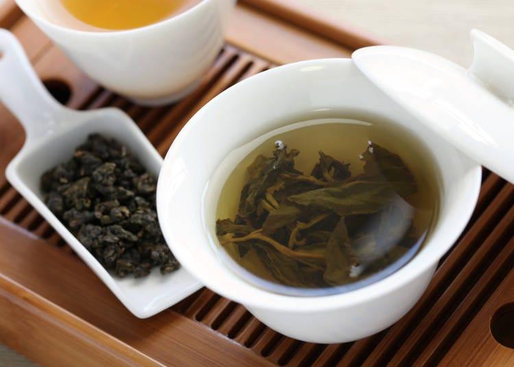 台湾は「台湾烏龍茶」ですっきり!