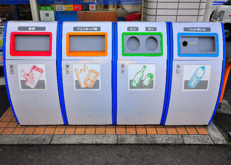 """Japan Culture Shock: """"Why Are There No Trash Bins Here?"""" How to Handle Your Garbage in Tokyo"""
