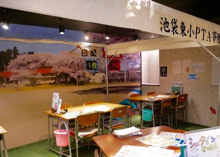 把各科教室變包廂 日本小學懷舊場景經典呈現