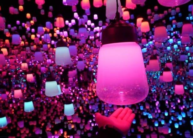 超夢幻!teamLab互動藝術展 台場展區現場直擊