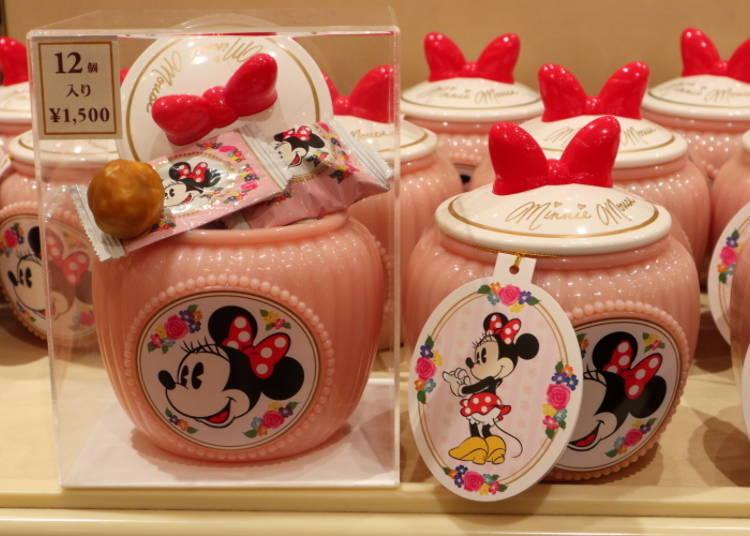 미니를 모티브로 한 핑크색 단지가 너무나도 귀엽다! 미니 슈케트 1500엔
