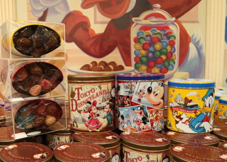 도쿄디즈니랜드의 인기상품! 초콜릿 크런치 800엔