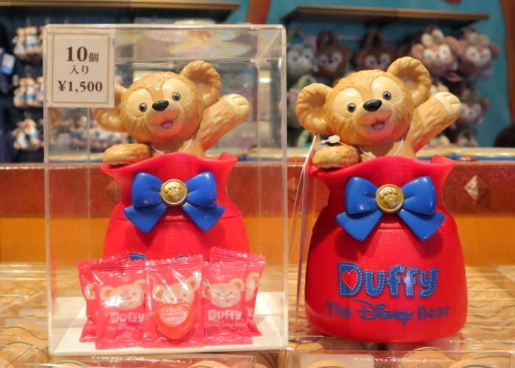 達菲糖果袋(草莓口味)1500日圓