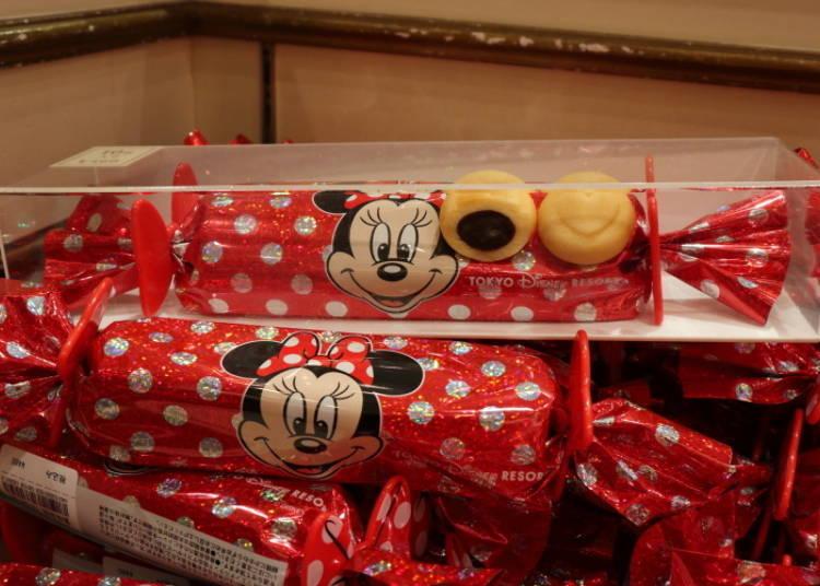 米妮巧克力內餡餅乾 460日圓