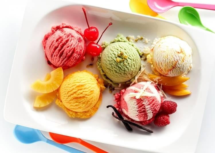スイーツにホッとする、4位は「アイスクリーム」!