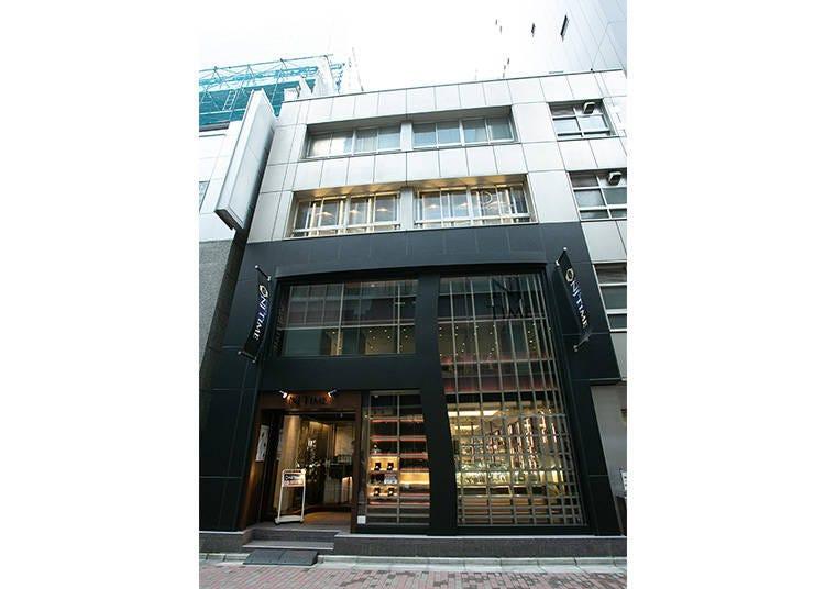 銀座エリア:腕時計専門店② 銀座NJタイム