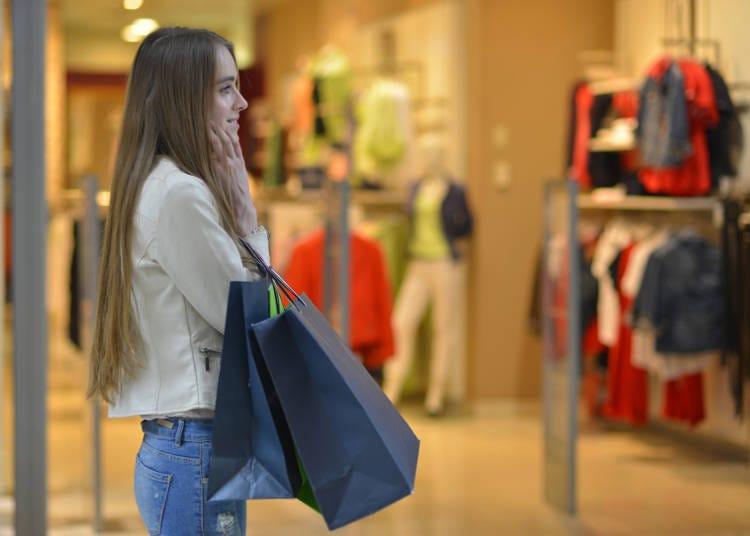 日本旅遊最大目的之一就是購物