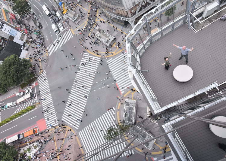 Take a One-of-a-kind Shibuya Selfie: Crossing Photo!
