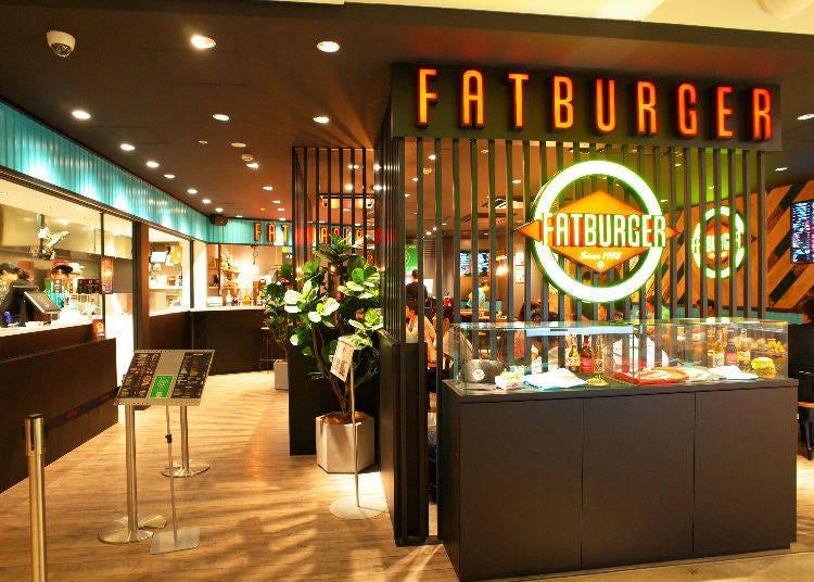 日本初上陸!ここでしか味わえない人気のハンバーガー「FATBURGER」