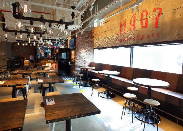 時尚與美味兼具 7樓美食餐飲區MAG7
