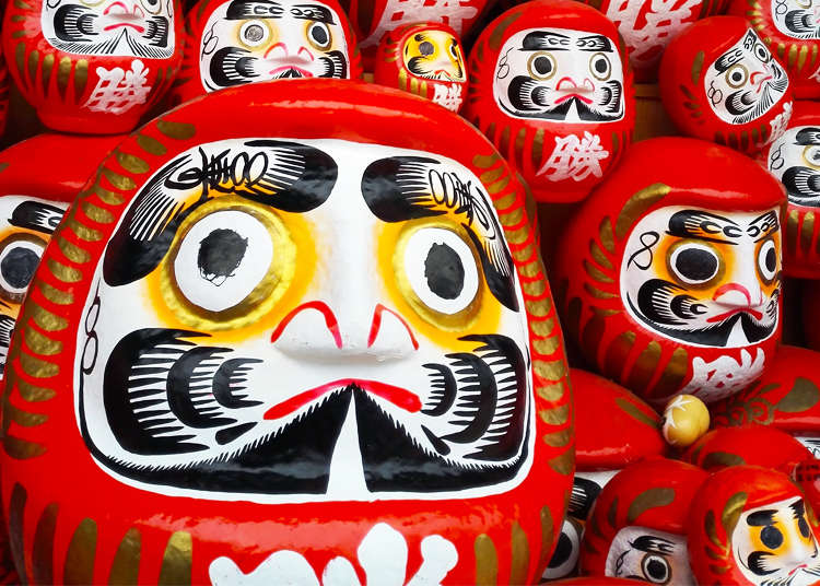 Japanese Daruma Dolls: The true story behind the insanely cute souvenirs! | LIVE JAPAN travel guide