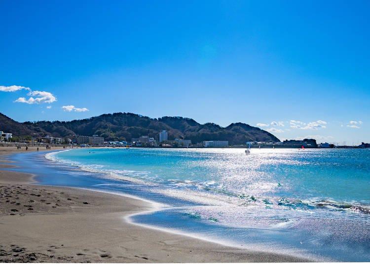 Kanagawa: Yuigahama Beach (Kamakura)