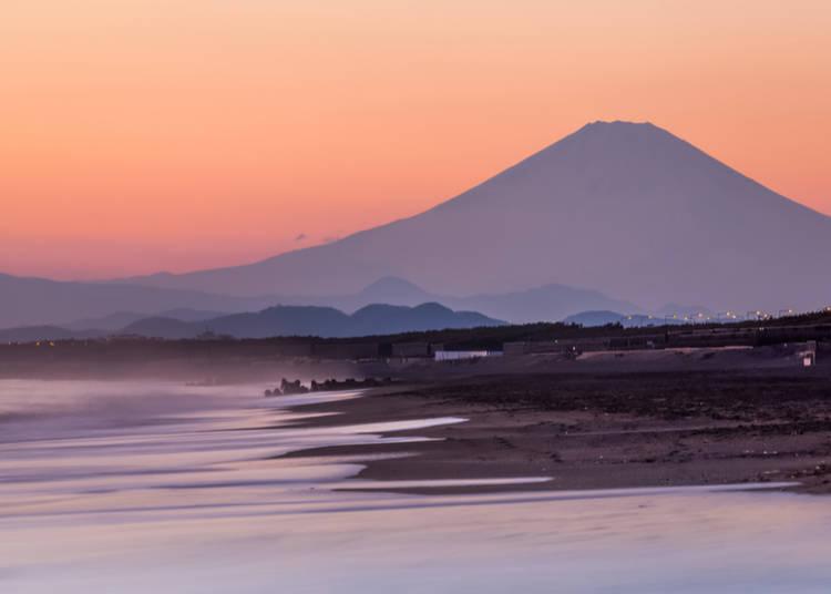 Kanagawa: Kugenuma and Chigasaki Beaches