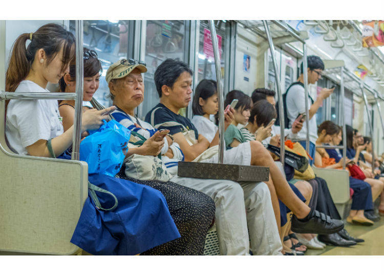 6. Be Careful How You Sit on the Train!