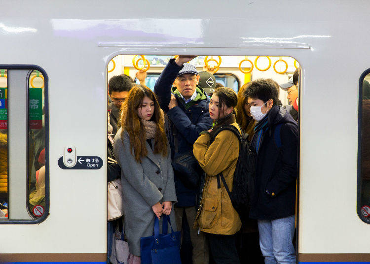10. Protect Yourself on Crowded Trains / Beware of Molesters
