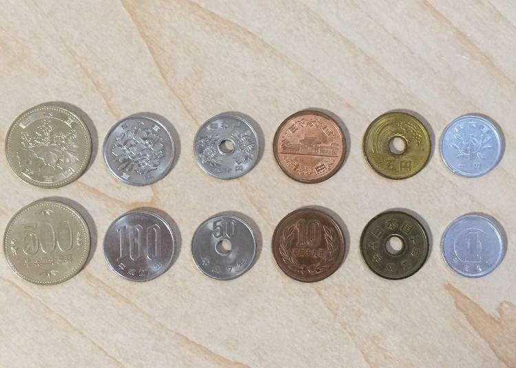 日本的硬幣