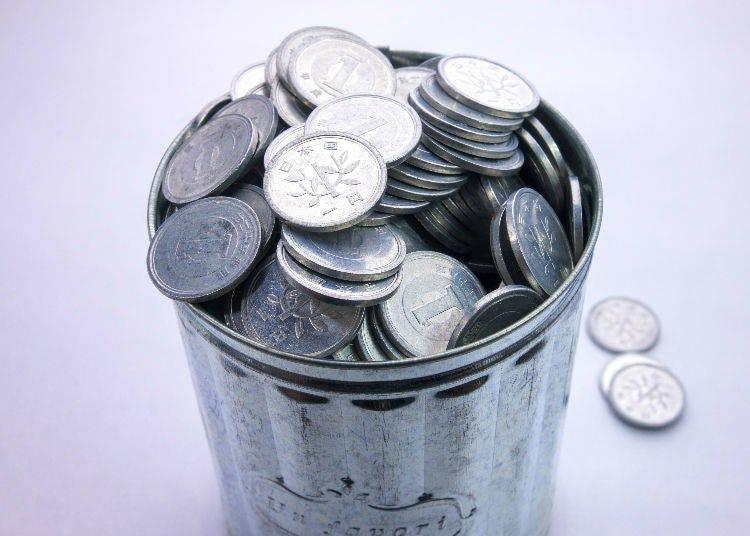 硬幣的小常識① 製造1圓日幣的成本比1圓日幣的價值還更多!