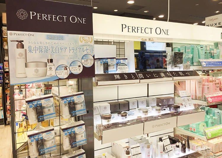 Matsumoto Kiyoshi Limited Corner: PERFECT ONE Moisture Gel, Skincare Series by Shinnihonseiyaku