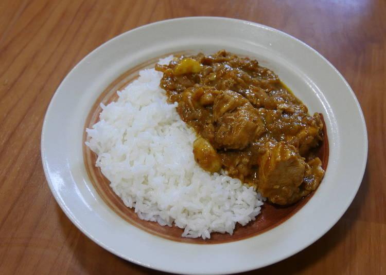 100엔샵 향신료로 만든 치킨 인도커리 완성! 과연 그 맛은 어떨까?!