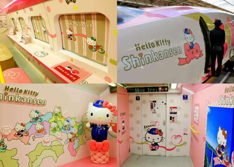 All Aboard the Hello Kitty Shinkansen: Traveling Through Japan in the Cutest Way Possible!