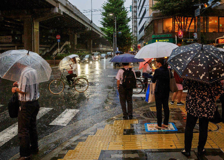 6. Summer in Japan is Typhoon Season! What to Do?
